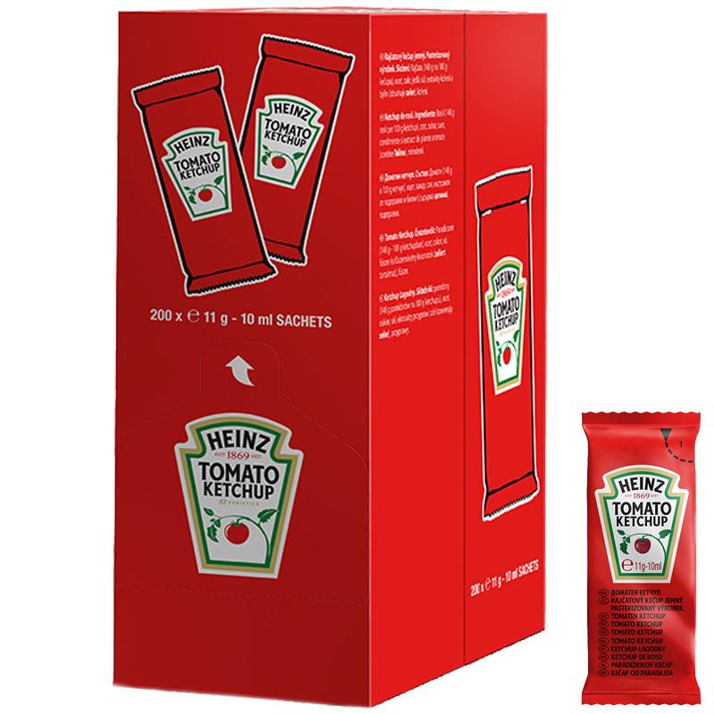 Hel Kasse Ketchup 200-pak - 26% rabatt