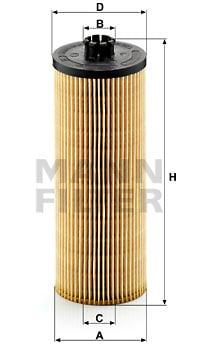 Öljynsuodatin MANN-FILTER HU 947/2 x