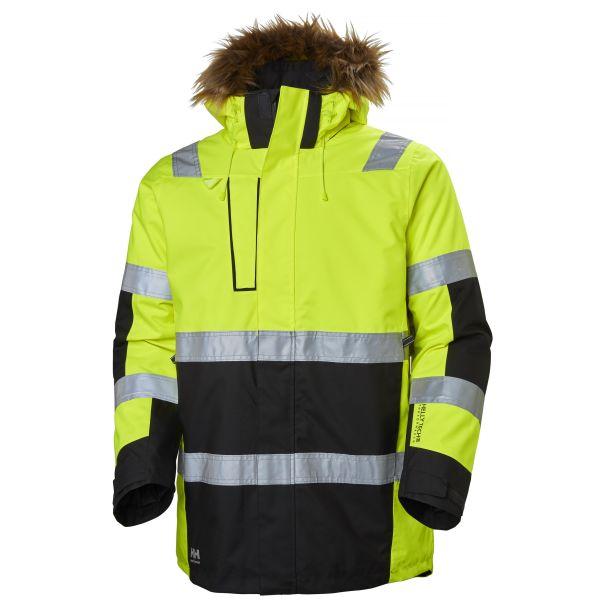 Helly Hansen Workwear Alna Vinterparkas varsel, gul/svart XS