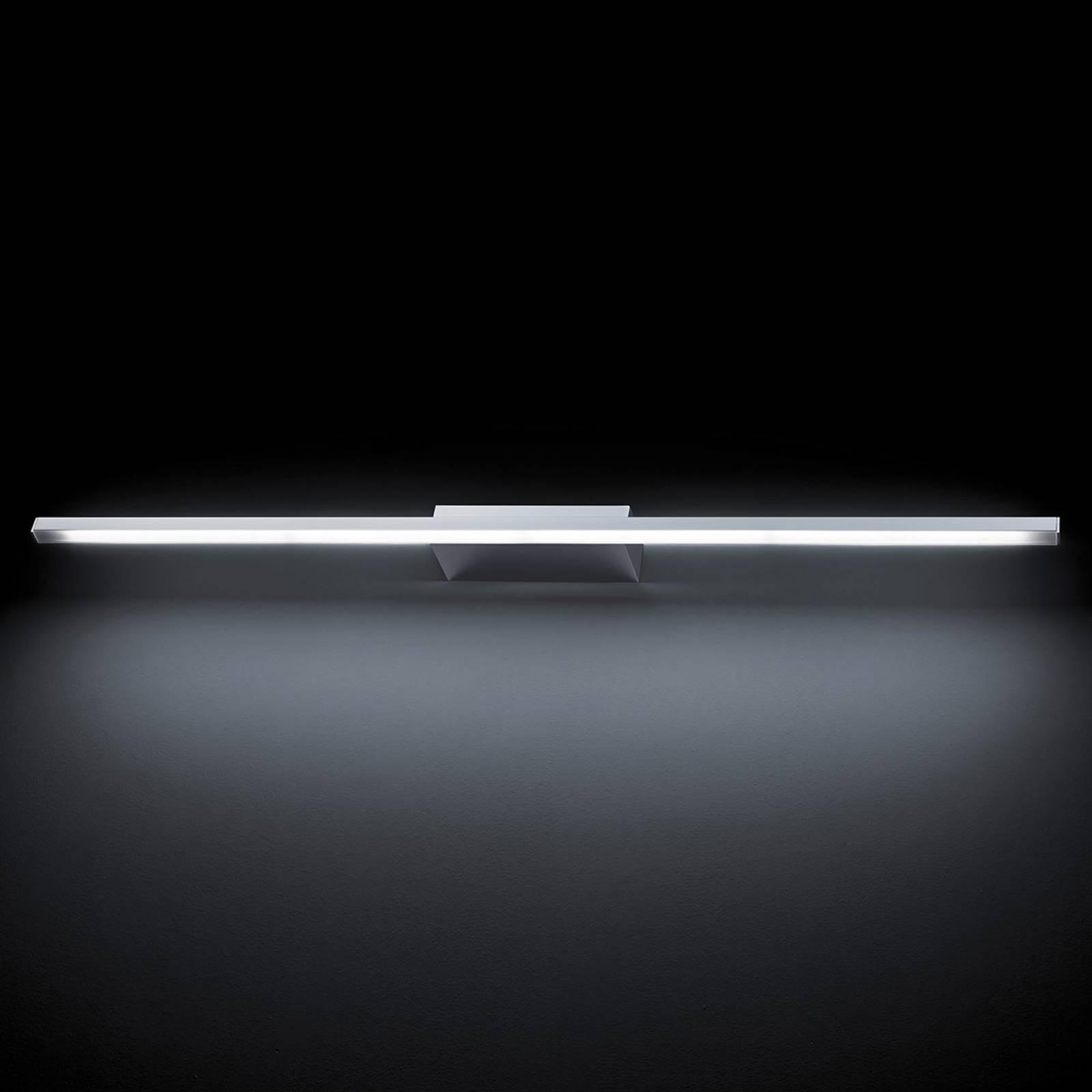GROSSMANN Forte LED-seinävalaisin, kromi 93,6 cm