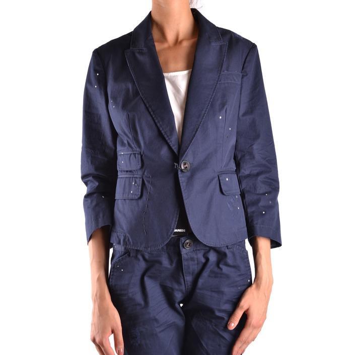 Dsquared Women's Blazer Blue 161589 - blue 42