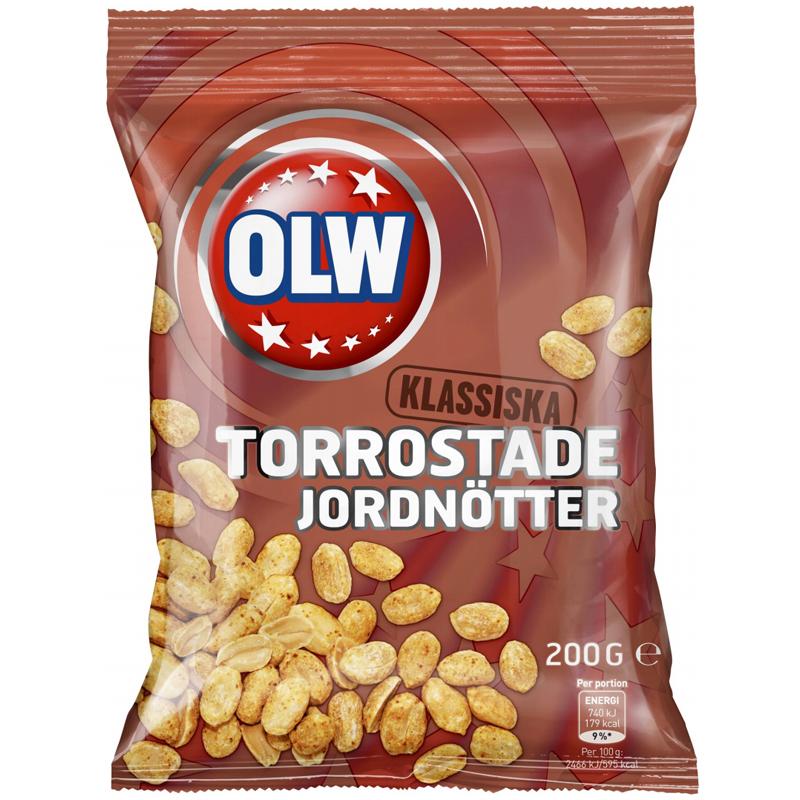 Torrostade Jordnötter 200g - 28% rabatt