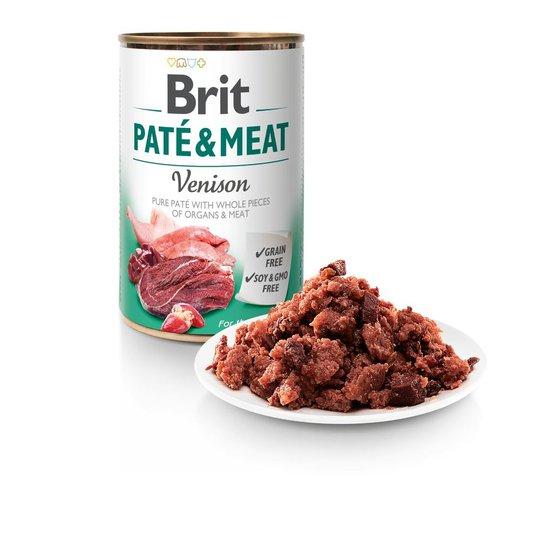 Brit Paté & Meat Venison