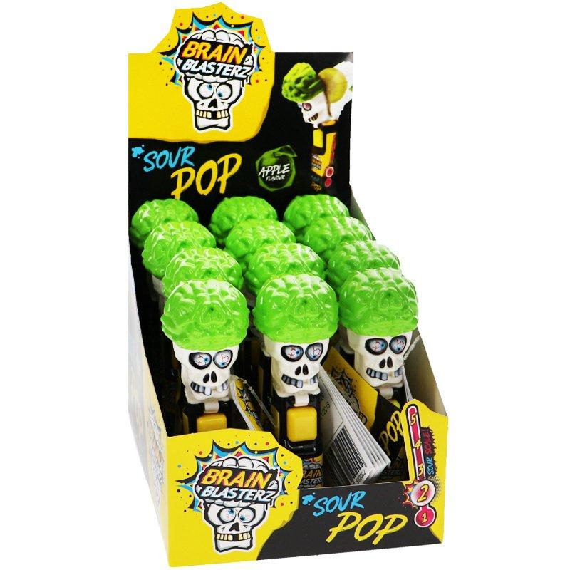 Brain Blasterz Sour Pop 12-pack - 47% rabatt