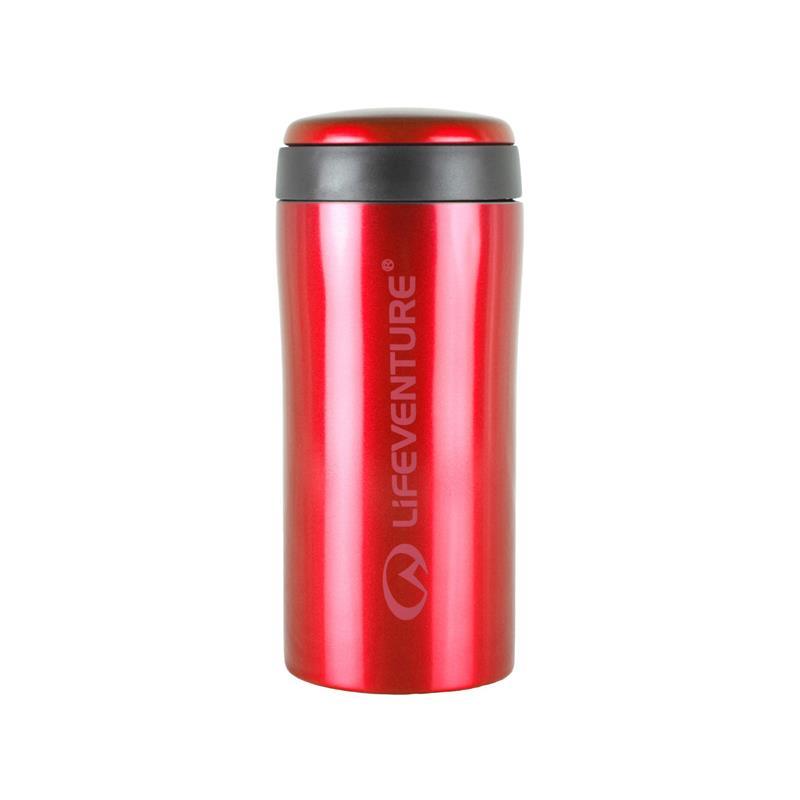 Lifeventure Thermal Mug - Red Holder på varmen i opptil 4 timer!