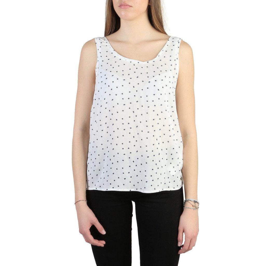 Armani Jeans Women's Top White C5022 ZB - white 40 EU