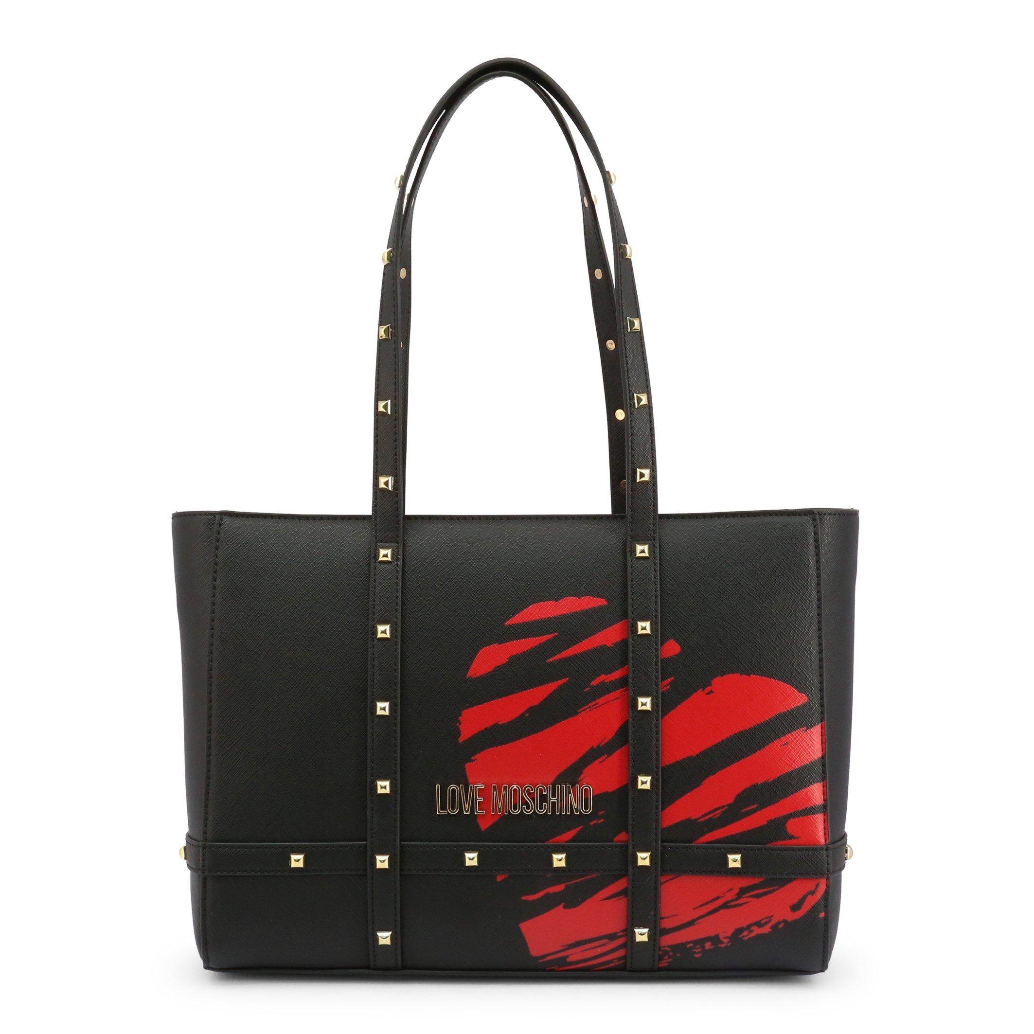 Love Moschino Women's Shoulder Bag Black JC4076PP1CLG1 - black-1 NOSIZE