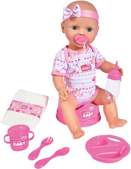 New Born Baby Dukke, Rosa