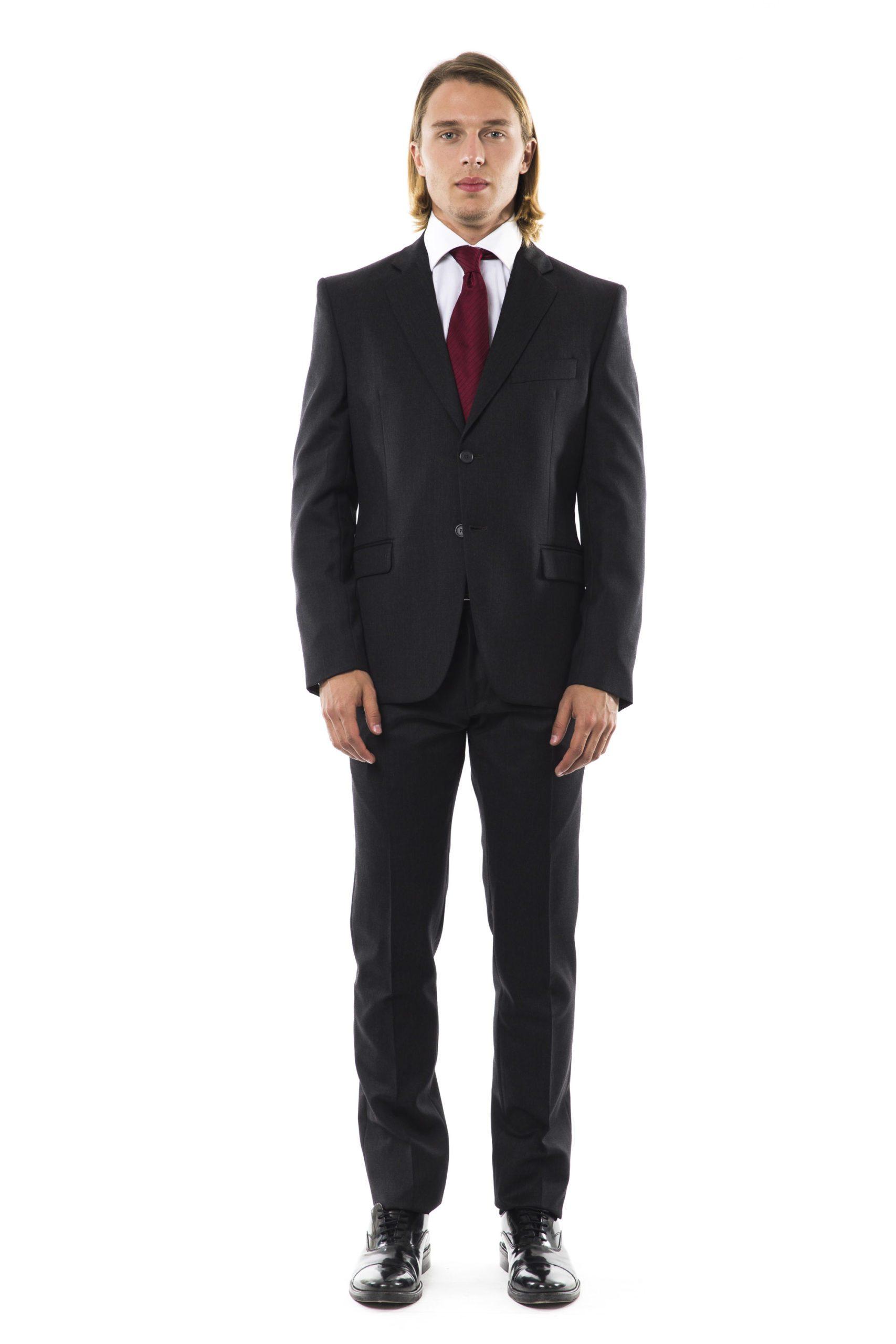 Uominitaliani Men's U- G R I G I O Suit Gray UO997026 - IT50 | L