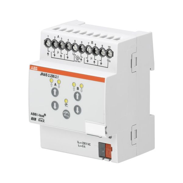 ABB 2CDG110120R0011 Verhomoottoriohjain 230 V, manuaalinen Verholähtöjen enimmäismäärä: 2