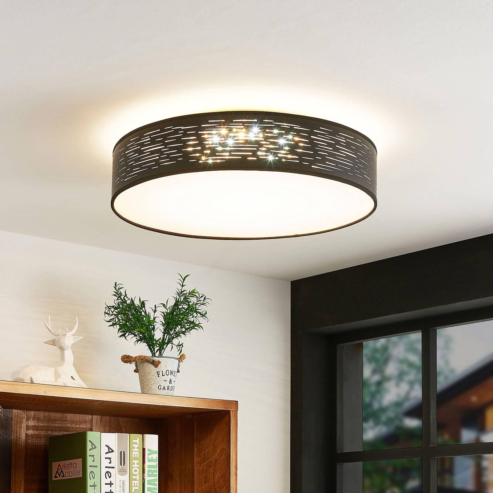 Lindby Iolyn -LED-kattovalaisin, Ø 50 cm