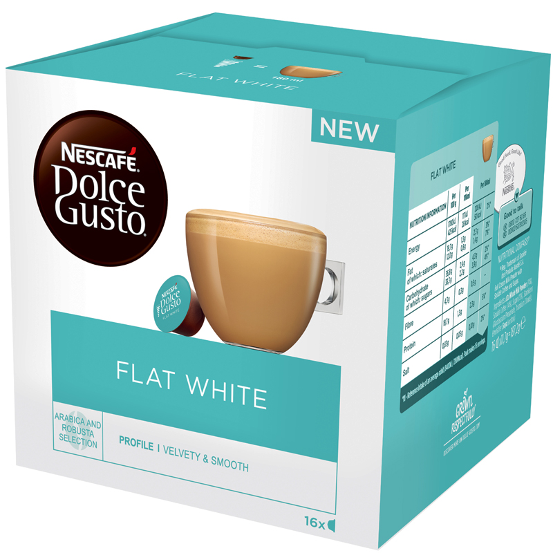 Nescafé Flat White 16-pack - 44% rabatt