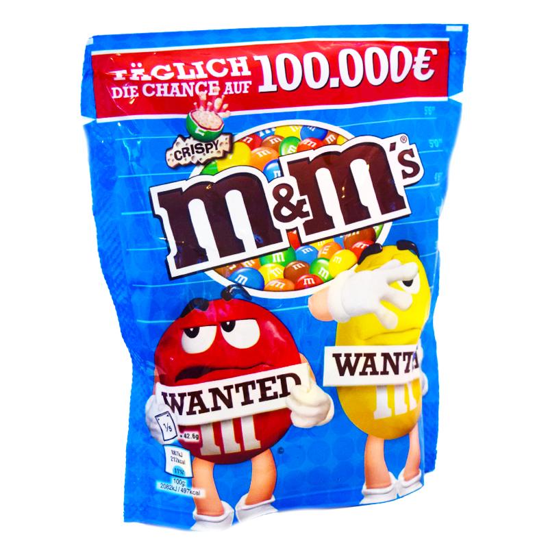"""M&M """"Wanted"""" - 40% rabatt"""