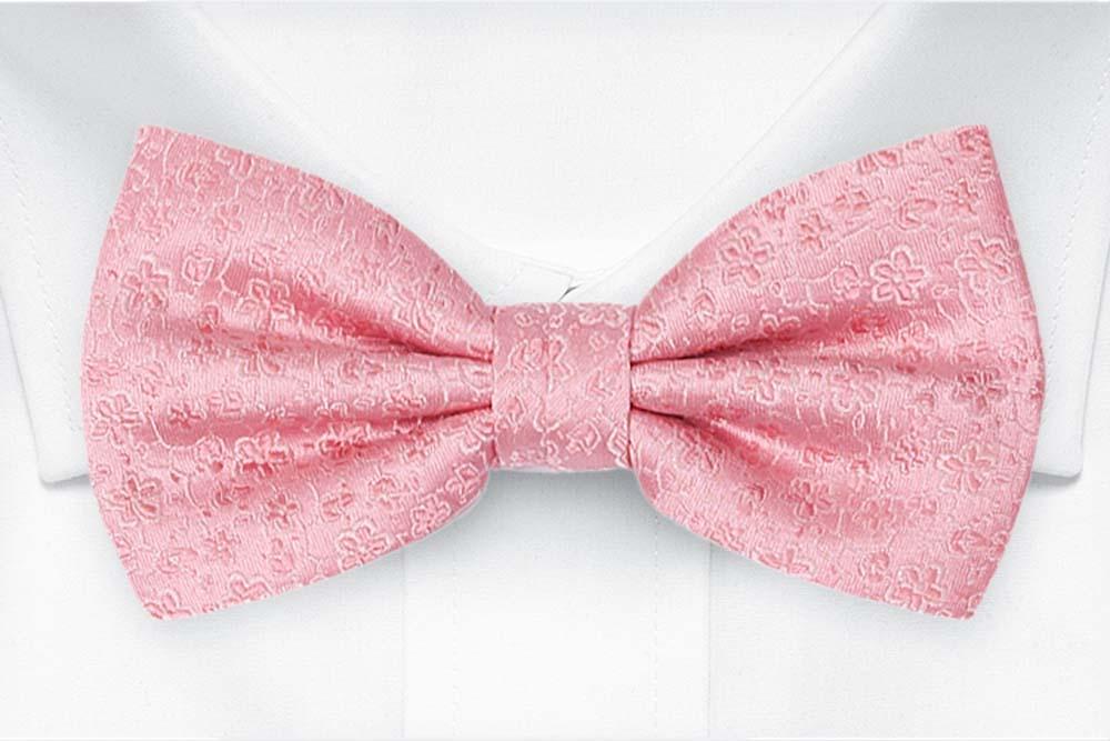 Silke Sløyfer Knyttede, Miniblomster i rosa og blekrosa, Rosa, Små blomster