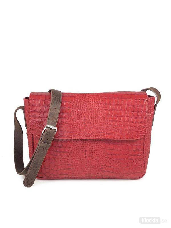 Väska C. Oui Leather Crossbody Toscane 07 - Red TOS07RO