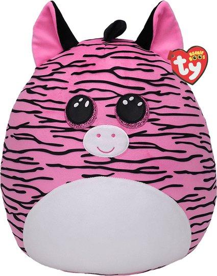 TY Squish Zoey Zebra Pute 35 Cm