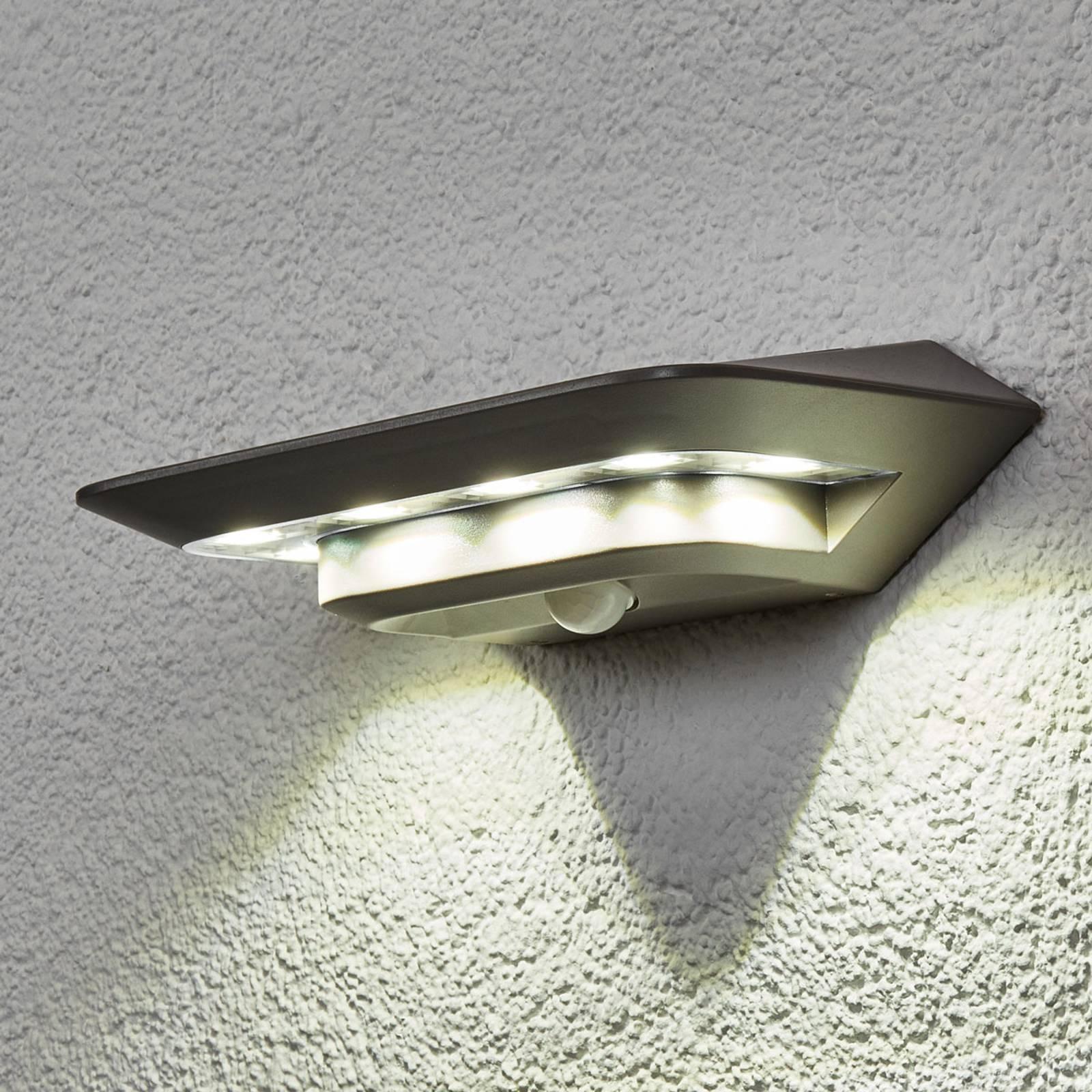 Aurinkokäytt. Ghost LED -seinävalaisin, liiketunn.