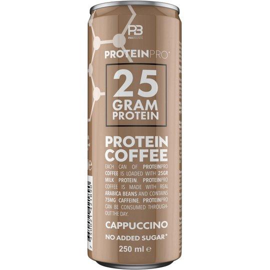 "Proteinkaffe ""Cappuccino"" 250ml - 44% rabatt"