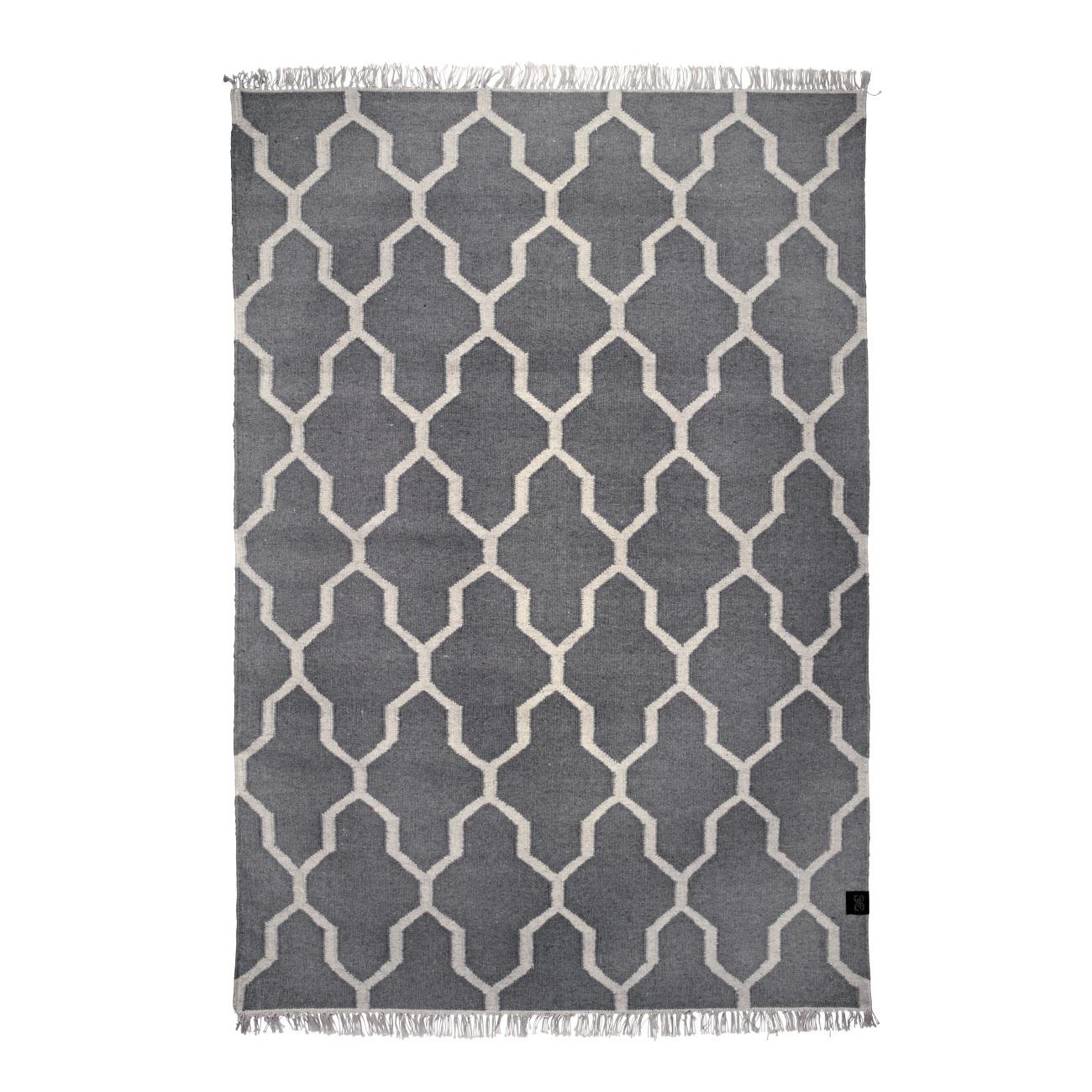 Ullmatta Tangier grå 170x230, Classic Collection