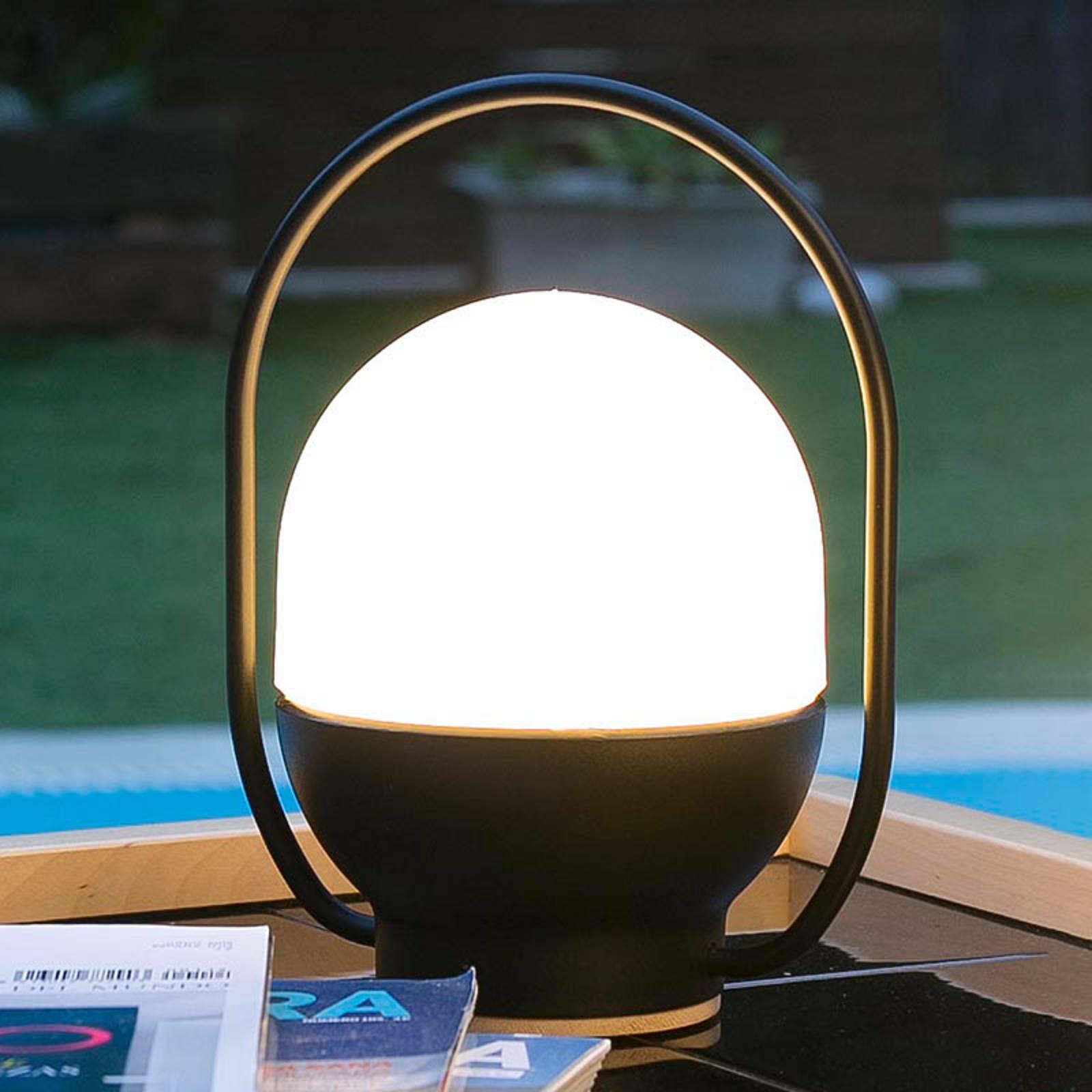 Take away - akkukäyttöinen LED-pöytälamppu, USB
