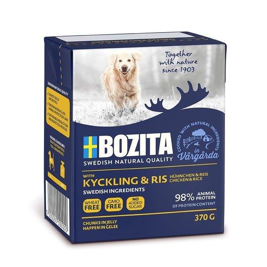 Bozita Kyckling & Ris Bitar i Gelé 370 g