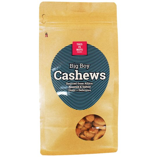 "Cashewnötter ""Big Boy"" 225g - 49% rabatt"