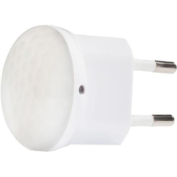 CAPiDi NL8 Nattlampe med sensor hvit