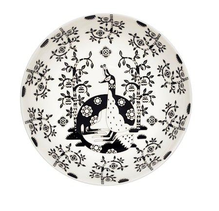 Taika Tallerken Dyp 22 cm – Svart
