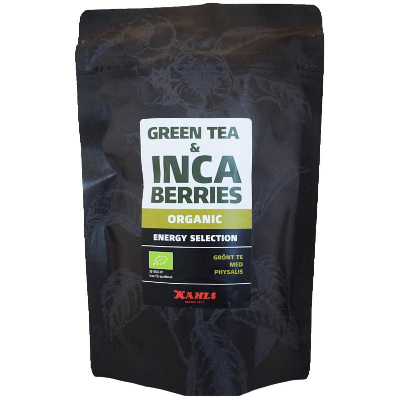 """Eko Grönt Te """"Inca Berries"""" 100g - 58% rabatt"""