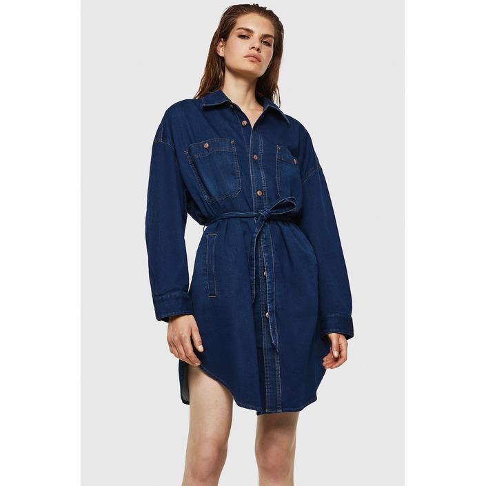 Diesel Women's Dress Blue 312639 - blue M