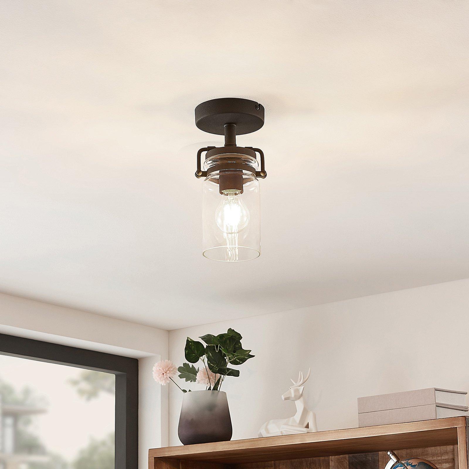 Lindby Vintus taklampe, svart