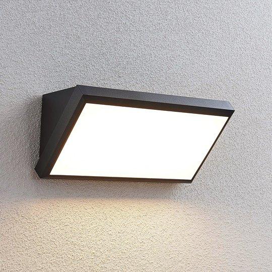 Utendørs LED-vegglampe Abby uten sensor