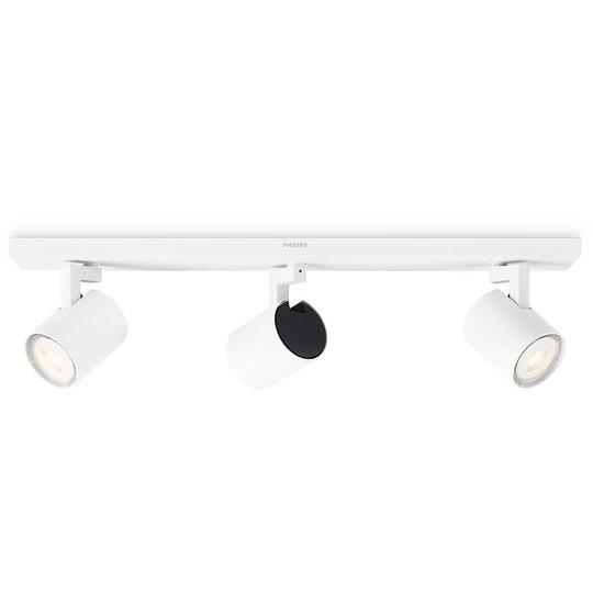 Philips Runner LED-kattospotti 3-lamppuinen