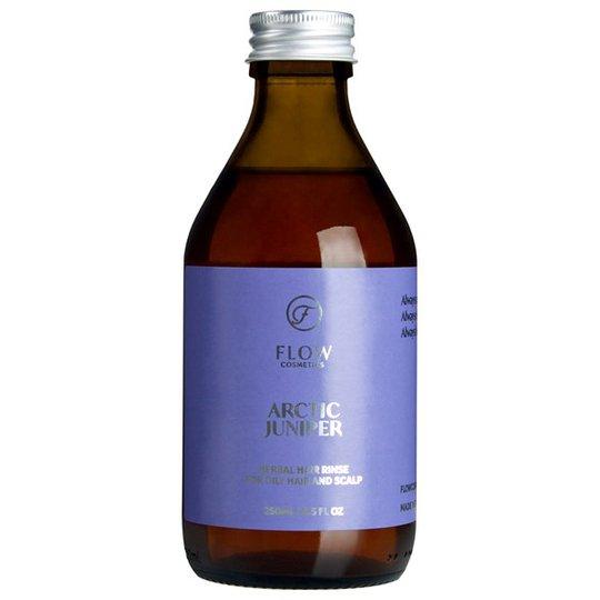 Flow Cosmetics Ekologisk Hårsköljning Enbär, 250 ml
