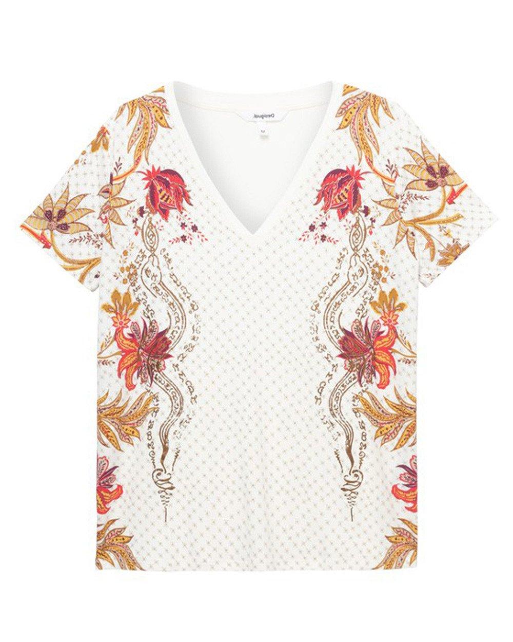 Desigual Women's T-Shirt Various Colours 203856 - white XS