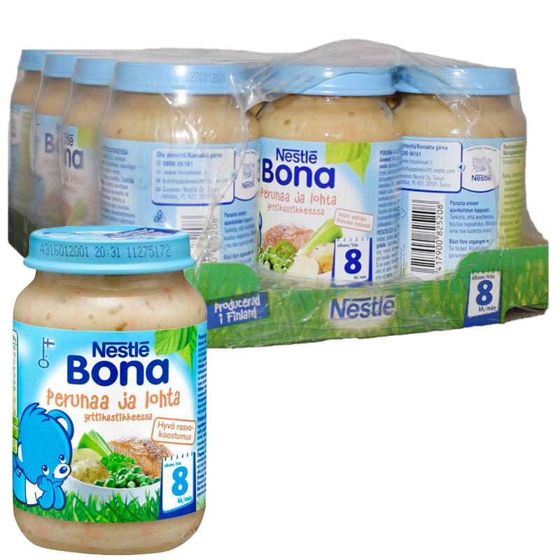 Lastenruoka Perunaa & Lohta 12kpl - 47% alennus