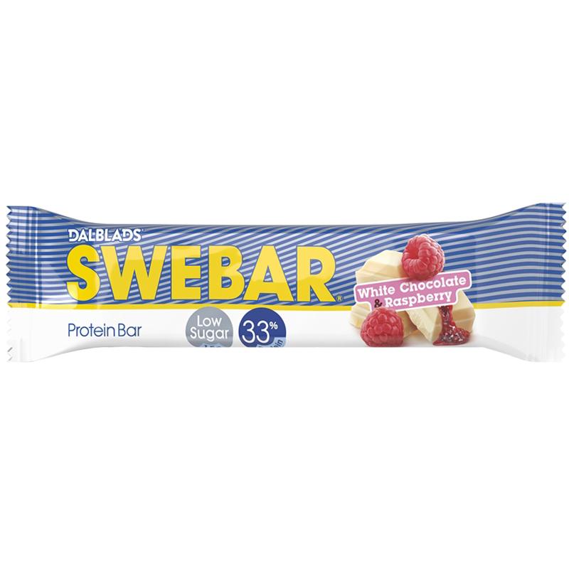 Proteinbar White Chocolate & Raspberry - 47% rabatt