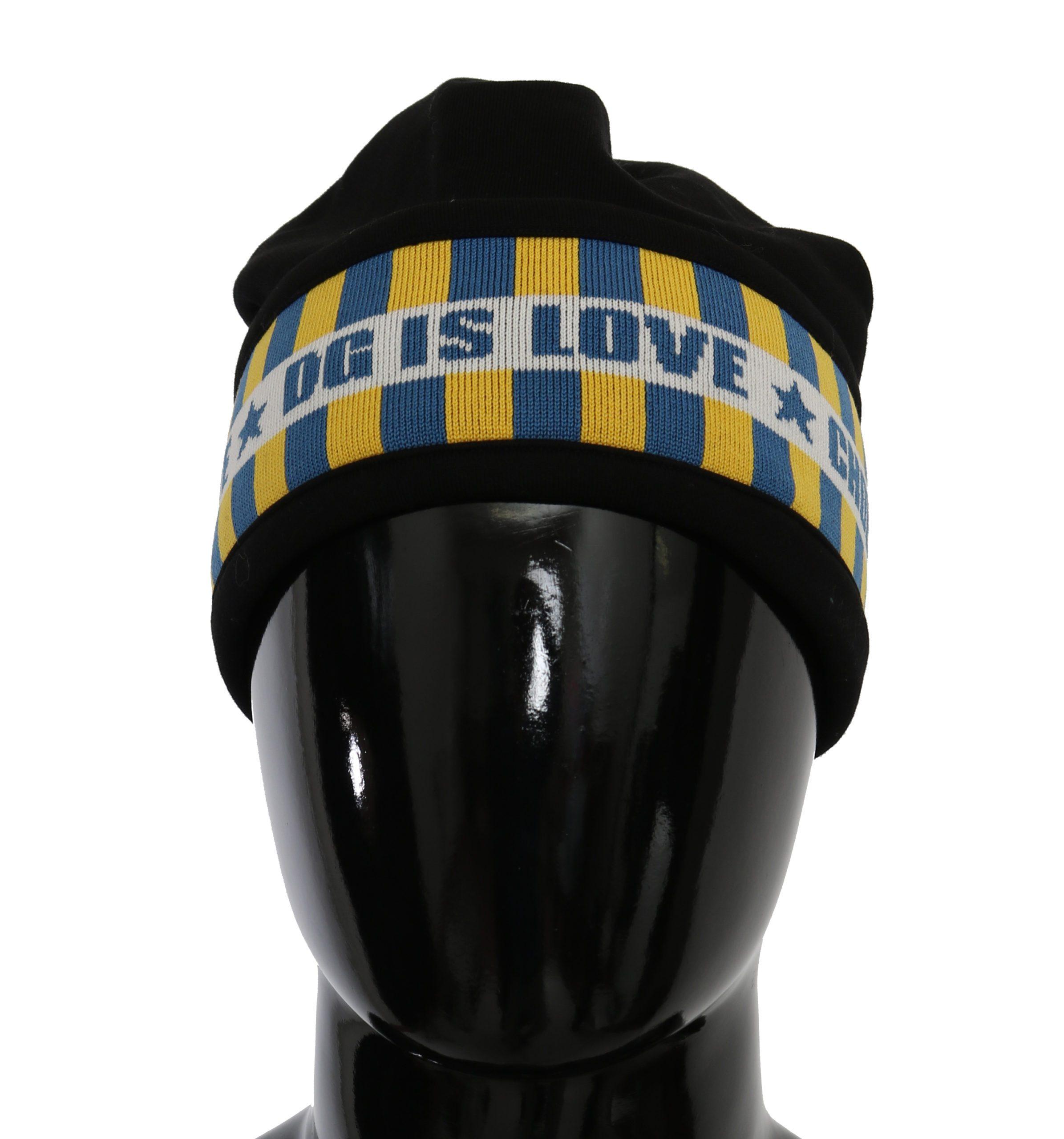 Dolce & Gabbana Men's Cotton Hat Black HAT9074