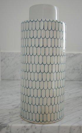 Ginza keramikkboks – Indigo, large