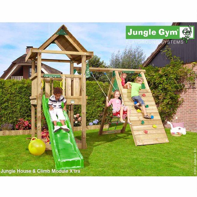 Jungle Gym House Lektorn Komplett