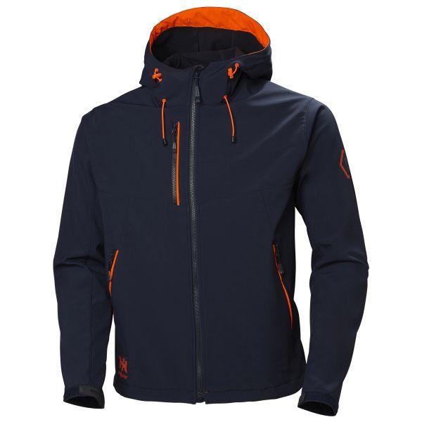 Helly Hansen Workwear Chelsea Evolution Softshelljacka marinblå XS