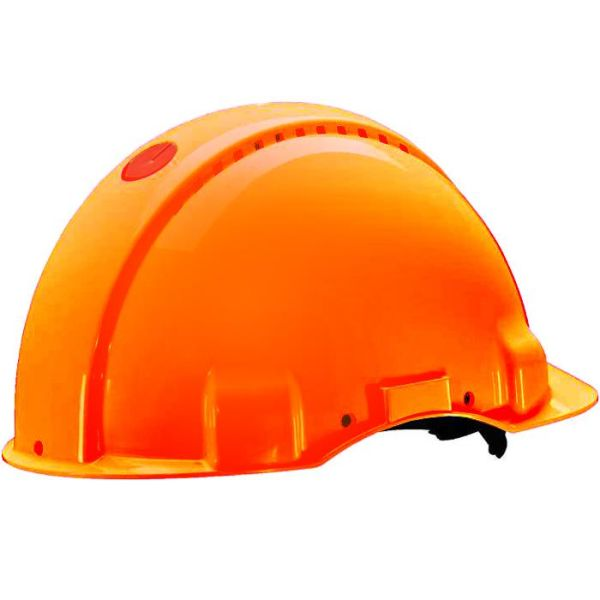 3M G3000 Vernehjelm Oransje