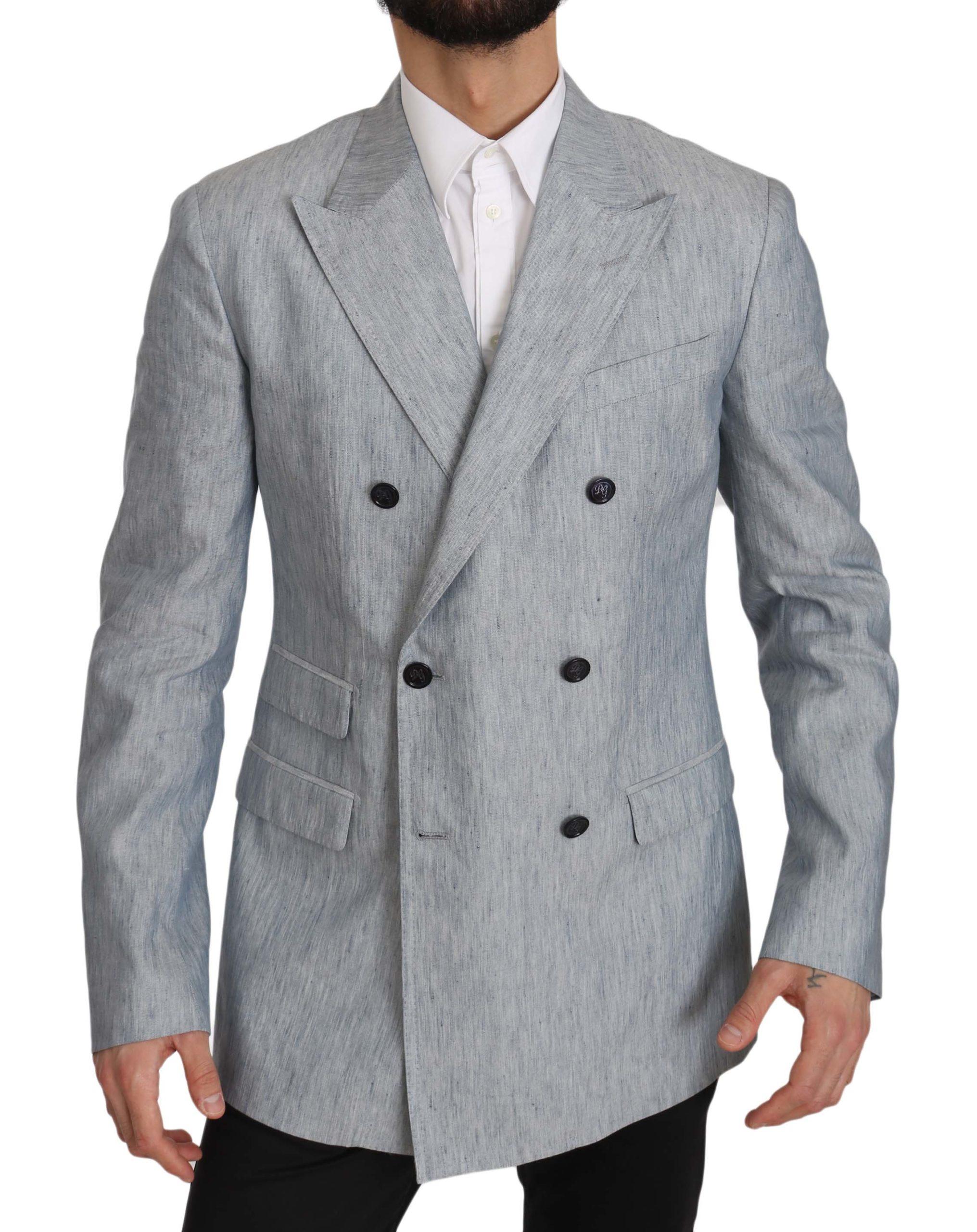 Dolce & Gabbana Men's Blazer Blue JKT2368 - IT48 | M