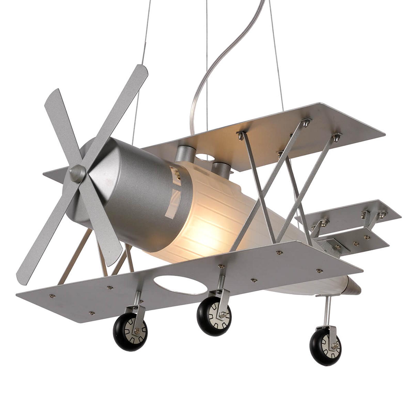 Focker - riippuvalo lentokoneen muodossa
