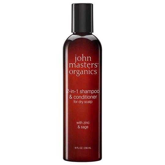 John Masters Organics 2-in-1 Shampoo & Conditioner for Dry Scalp, 236 ml