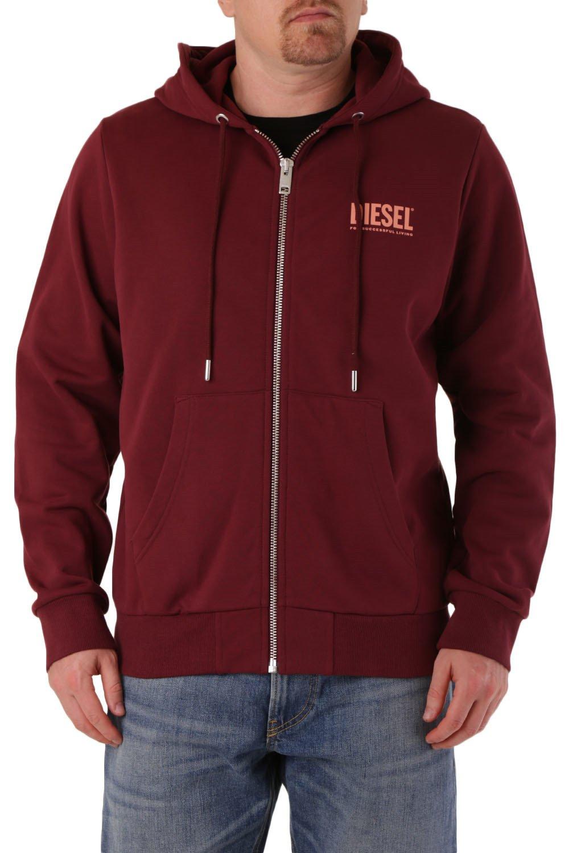 Diesel Men's Sweatshirt Various Colours 294144 - red L