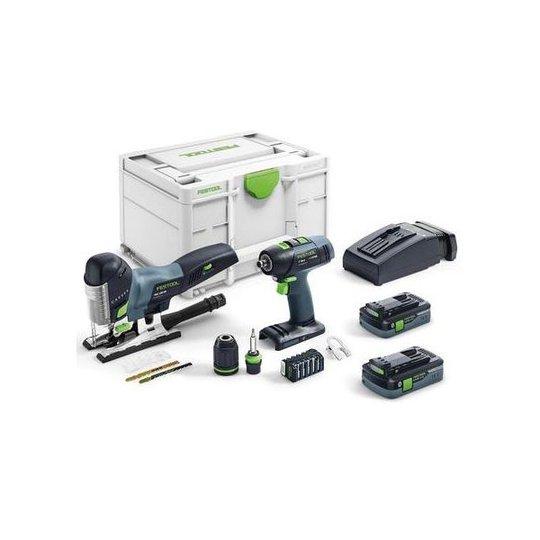 Festool T 18+3/PSC 420 I-Set Käsityöläissarja