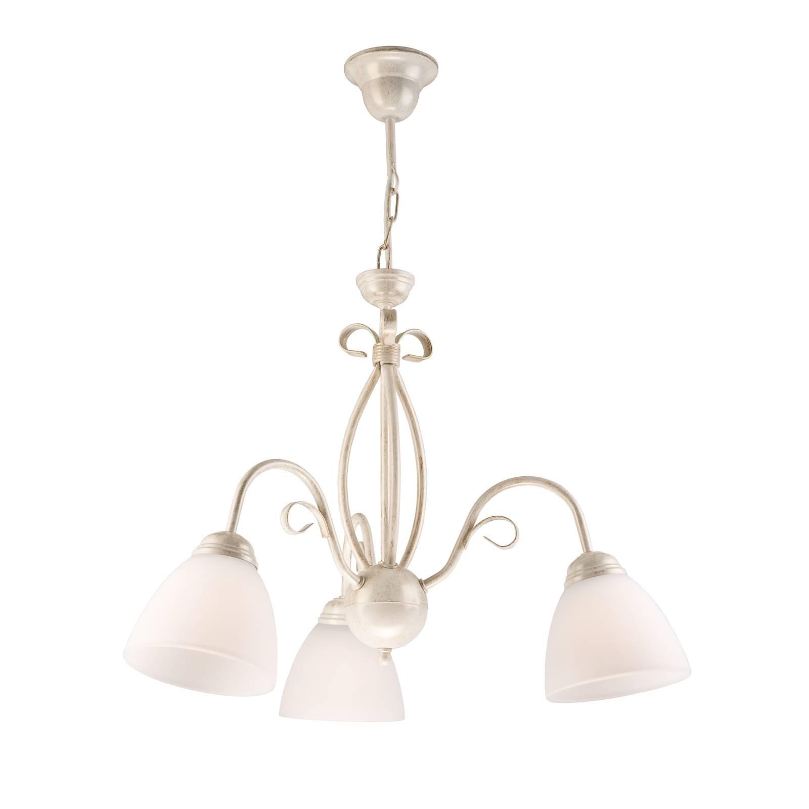 Riippuvalo Adoro, 3-lamppuinen, valkoinen