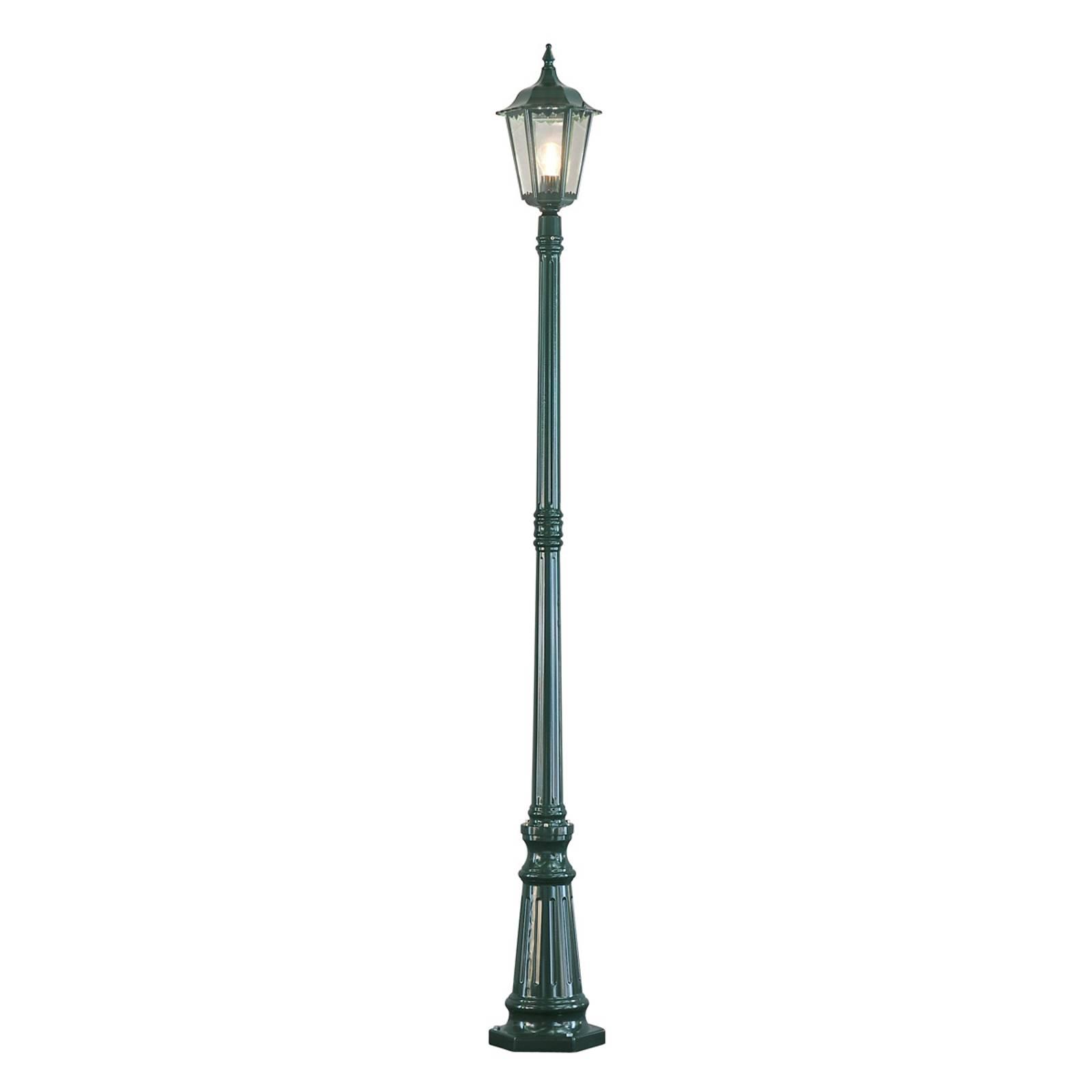Firenze-lyhtypylväs, 1-lamppuinen, vihreä