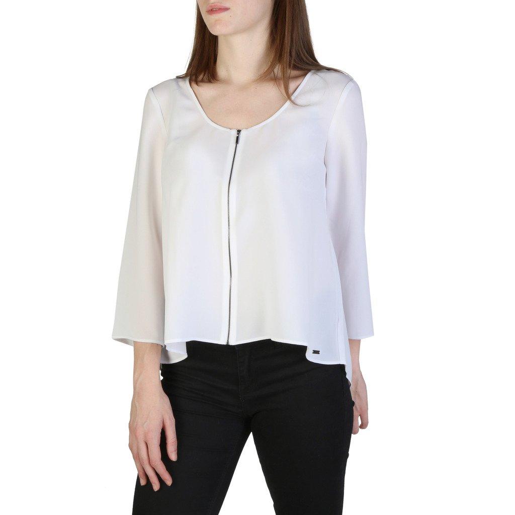 Armani Exchange Women's Sweater White 3ZYC24YN34Z1100 - white S